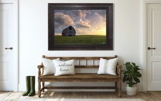 How to blend nature photography prints with your home décor